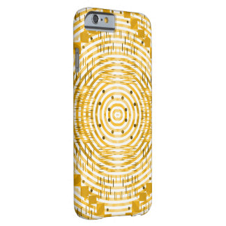 Skraj och guld- barely there iPhone 6 skal