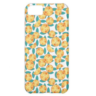 Skraj orangar iPhone 5C fodral