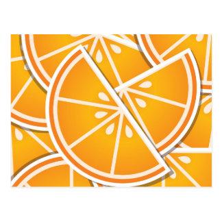 Skraj orangekilar vykort