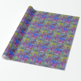 Skraj psychedelic magi mattar presentpapper