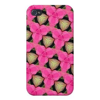 Skraj Punk rosor iPhone 4 Skydd