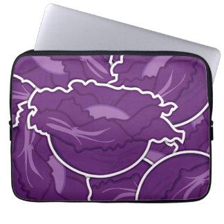 Skraj purpurfärgad kål datorfodral