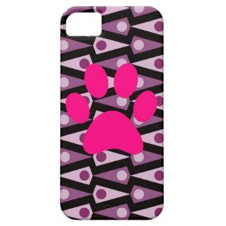 Skraj purpurfärgat fodral för triangelmönsteriPhon iPhone 5 Case-Mate Cases