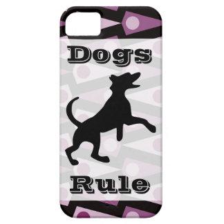 Skraj purpurfärgat fodral för triangelmönsteriPhon iPhone 5 Case-Mate Skydd