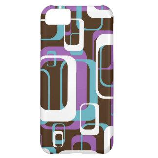 Skraj Retro geometriskt mönster iPhone 5C Skal