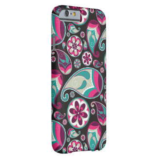 Skraj Retro Paisley mönster Barely There iPhone 6 Skal