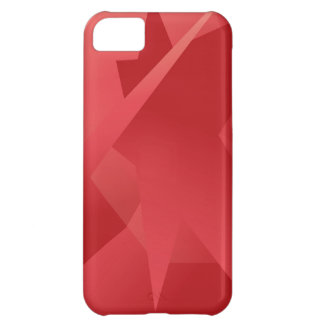 Skraj röd samling iPhone 5C mobil skal