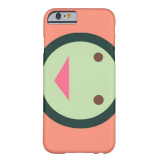 Skraj rosa smiley faceiphone case barely there iPhone 6 skal