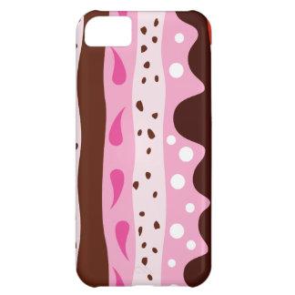 Skraj rosor iPhone 5C fodral