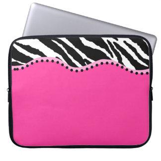 Skraj sebralaptop sleeve laptopfodral