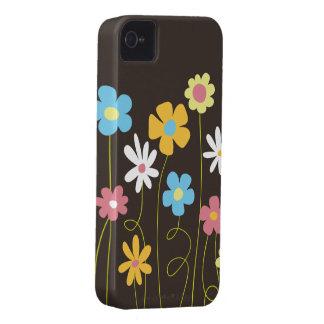 Skraj vår blommor iPhone 4 Case-Mate case