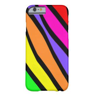 Skraj zebra ränder barely there iPhone 6 fodral