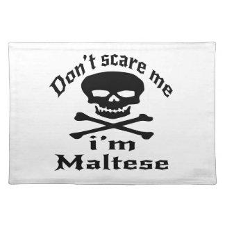 Skrämma inte mig den maltesiska I-förmiddagen Bordstablett