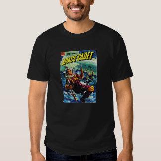 Skräp- komisk utslagsplats för SciFi T-shirt