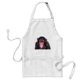 Skratta apan förkläde