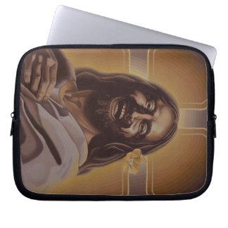 Skratta den bästa sleeven för Jesus varv Laptop Sleeve