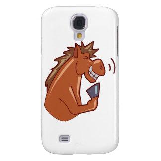 Skratta hästen galaxy s4 fodral