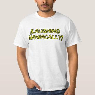 skratta maniacally sfx tröja