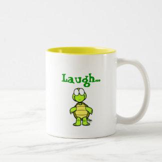 Skrattmuggen Två-Tonad Mugg