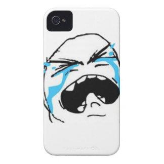 Skriande komiska Meme Case-Mate iPhone 4 Fodral