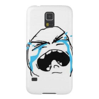 Skriande komiska Meme Galaxy S5 Fodral