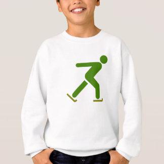 SkridskoåkningSilhouette Tshirts