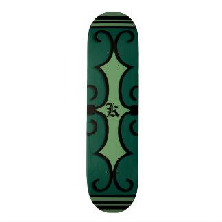 """Skridskodäcktyp: 7 7/8"""" IRONWORK SCROLLWORK 3 Skateboard Bräda 19,5 Cm"""