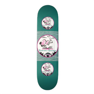 """Skridskodäcktyp: RABBITHOLE-HANDBOK FÖR ¾ 7"""" Old School Skateboard Bräda 21,6 Cm"""