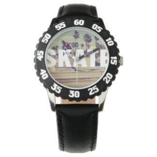 Skridskodesignklocka Armbandsur