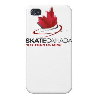 SkridskoKanada nordlig Ontario logotyp iPhone 4 Skydd