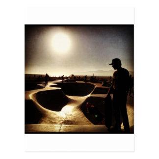 skridskologi i hollywood vykort