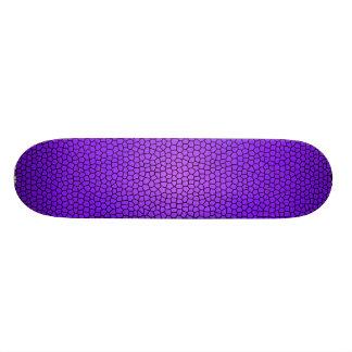 Skridskon för ormtryckdesignen stiger ombord mini skateboard bräda 18,7 cm