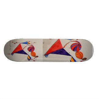 Skridskon stiger ombord för barn mini skateboard bräda 18,7 cm