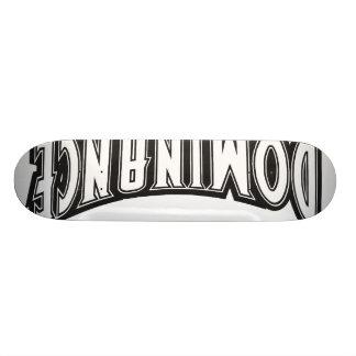 Skridskon stiger ombord herravälde old school skateboard bräda 18 cm