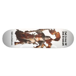 Skridskon stiger ombord mini skateboard bräda 18,7 cm