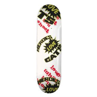 Skridskon stiger ombord old school skateboard bräda 18 cm