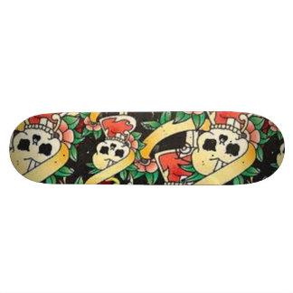 Skridskon stiger ombord skateboard bräda 21,5 cm