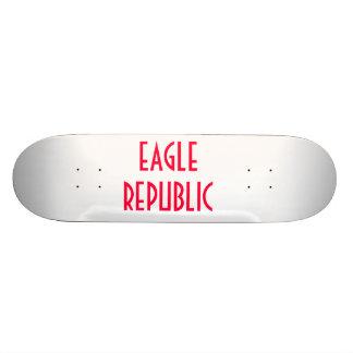 Skridskon stiger ombord vid örnrepubliken mini skateboard bräda 18,7 cm