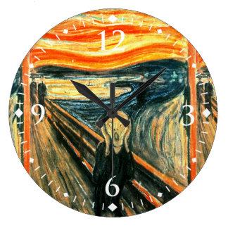 Skriet av Edvard Munch Stor Klocka