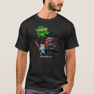SKRIKIG SOPPA! Deadwest & Billy ShootoutT-tröja Tee Shirts