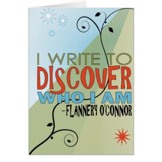 Skriv för att upptäcka hälsningskort