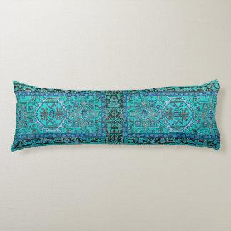 Skriv ut från den traditionella Kilim mattan i Kroppskudde