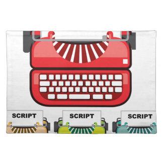 Skriva skrivmaskinen bordstablett