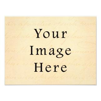 Skrivar den kräm- beigen för vintage textParchment Fototryck