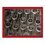 """Skrivmaskinen stämm """"mig älskar dig """","""