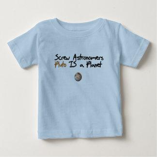 Skruva Astonomers… Pluto är ett planet Tee Shirt