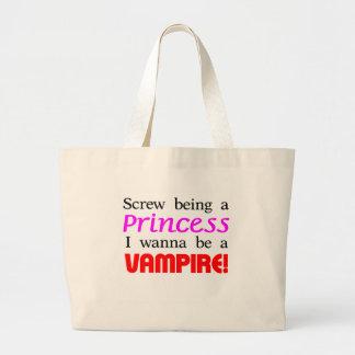 Skruva att vara en vampyr tygkasse
