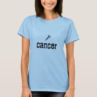 Skruva cancer t shirts