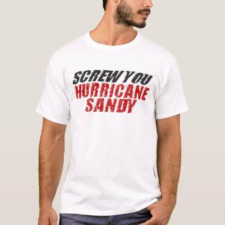 SKRUVA DIG den sandiga T-tröja för orkanen Tshirts