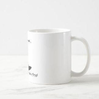 Skruva gående vindsurfa för arbete… kaffemugg